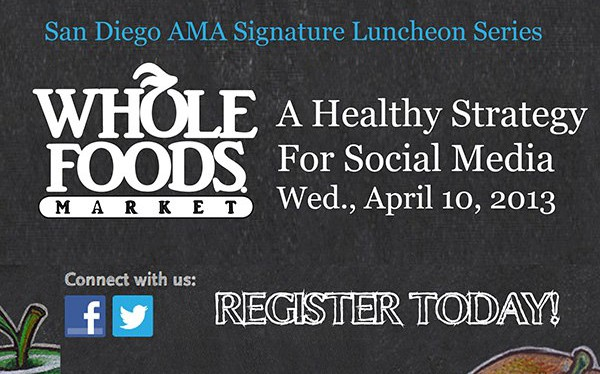 Whole Foods Market: A Healthy Strategy For Social Media