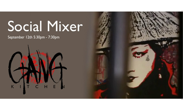 Social Mixer at Gang Kitchen