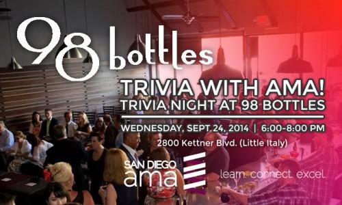 Trivia Night at 98 Bottles