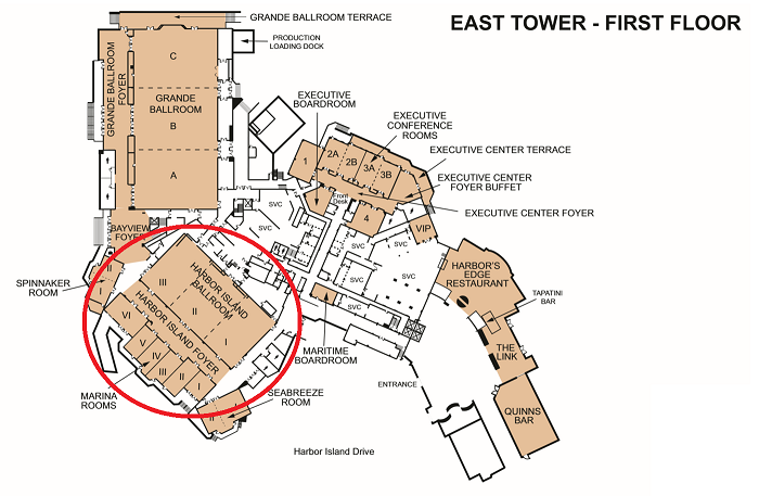 Venue Floor Plan with Circle small