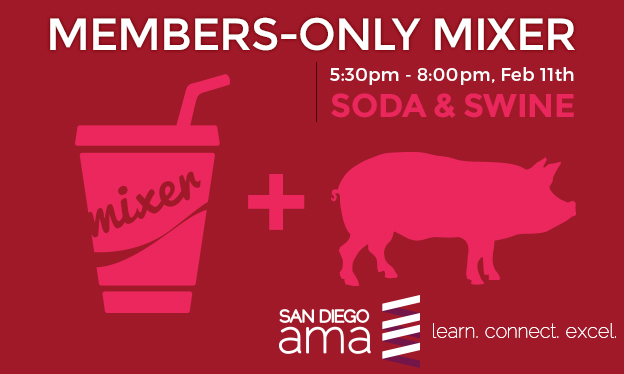 Members Only Mixer