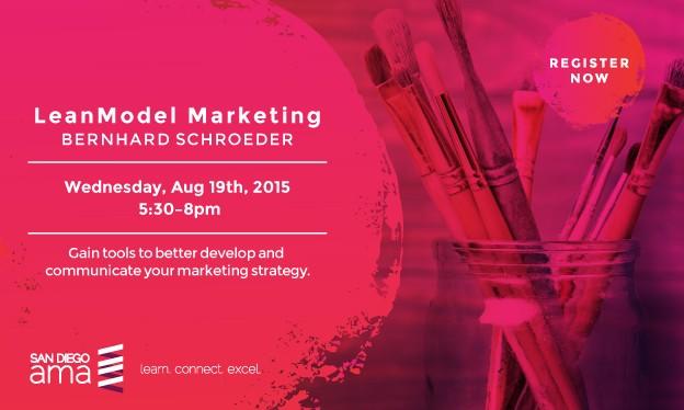LeanModel Marketing Workshop with Bernhard Schroeder