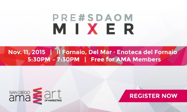 Pre-#SDAOM Mixer: Free for Members!