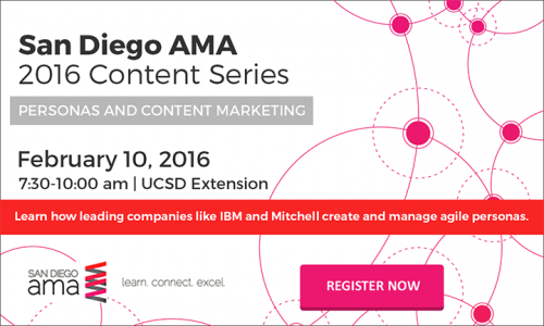 Content Marketing Series #1: Brand Personas