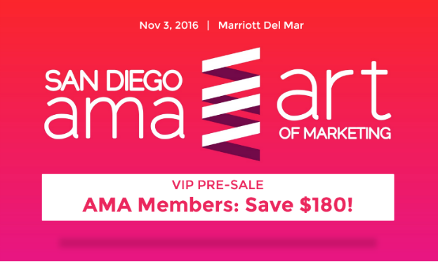 """#SDAOM: 2016 Art of Marketing Conference – """"Closing the Loop"""""""