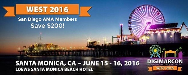 DIGIMARCON WEST 2016 – AMA Members Save $200!