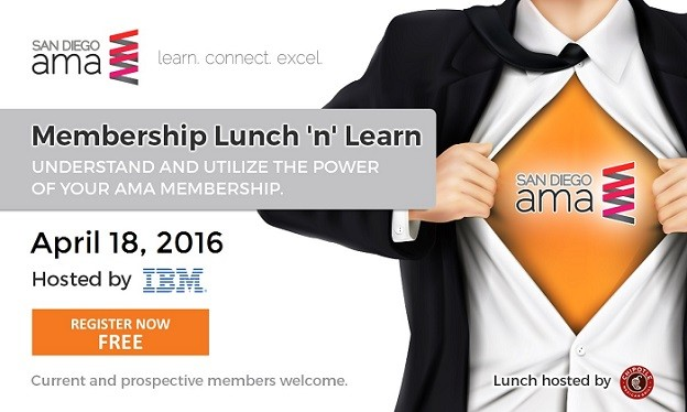 AMA Membership Lunch 'n' Learn