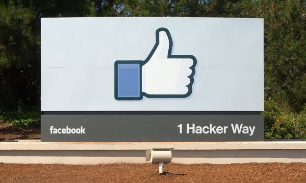 Facebook campus sign