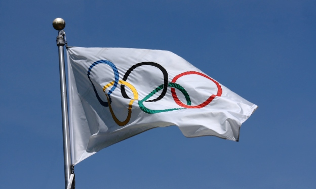Olympic flag, Olympic marketing advertising