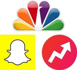 NBC, Snapchat, Buzzfeed partner at 2016 Summer Olympics