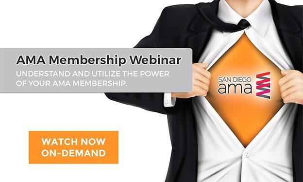 WEBINAR: The Power of AMA Membership