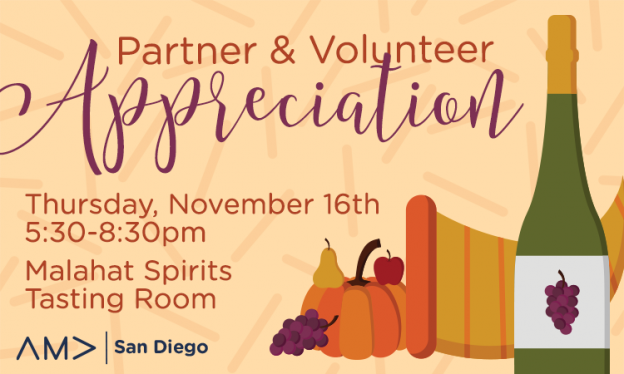 Partner & Volunteer Appreciation Event