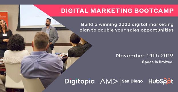 2020 Digital Marketing Bootcamp -11/14