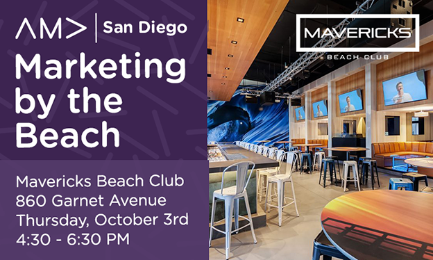 AMA Marketing Week: Networking at the Beach -10/3
