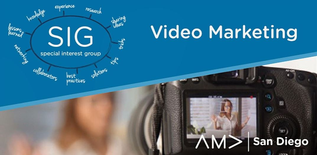 Video Marketing SIG: How to Prepare for Your Next Video Project
